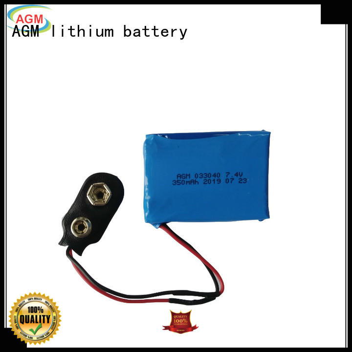 rechargeable lithium polymer battery with pcb for gps