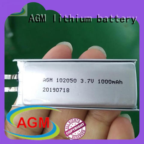 AGM lithium battery oem mobile phone batteries with pcb for pad