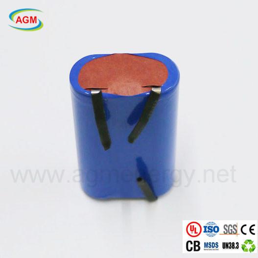 ICR 18650 4400mAh 3.7V power battery pack for juicer