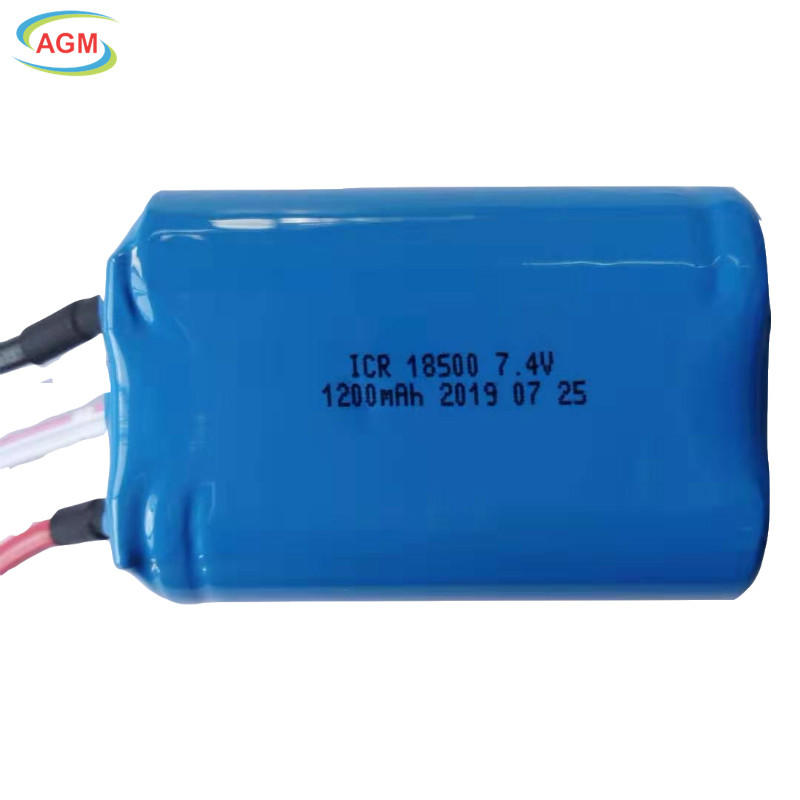 ICR18500 7.4V 1200mAh 2S1P for juicer