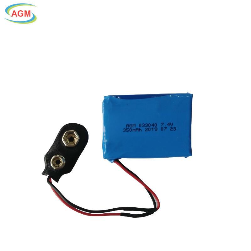 PL 003040 350mAh 7.4V Li-Polymer battery pack for car DVR/HD DVR//Wireless phone/speaker