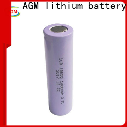 AGM lithium battery electronic icr18650 battery factory for solar products