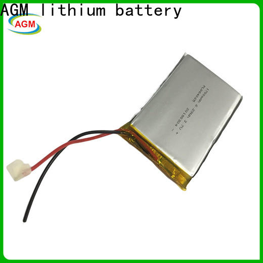 AGM lithium battery 2s lipo battery with charger for gps