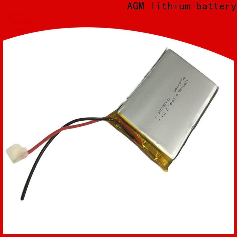 AGM lithium battery odm 2s lipo battery supply for pad