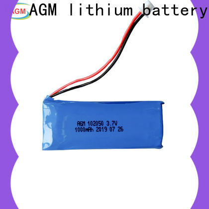 AGM lithium battery rechargeable lithium polymer battery manufacturers for phone battery