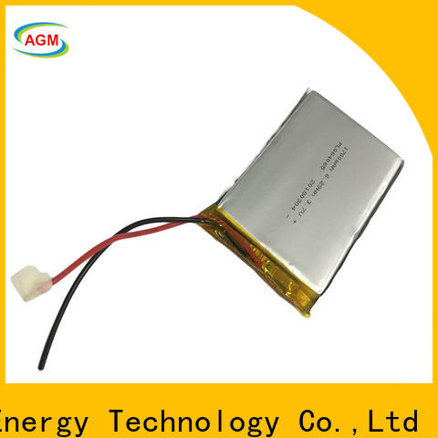 AGM lithium battery high-quality 3s lipo battery with charger for pad