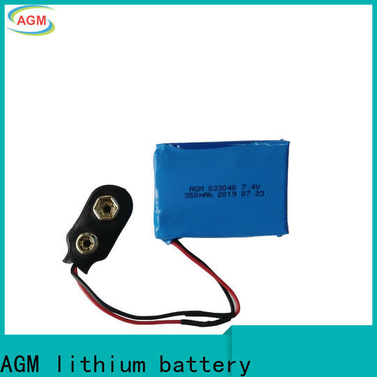 AGM lithium battery 2s lipo battery with pcb for phone battery