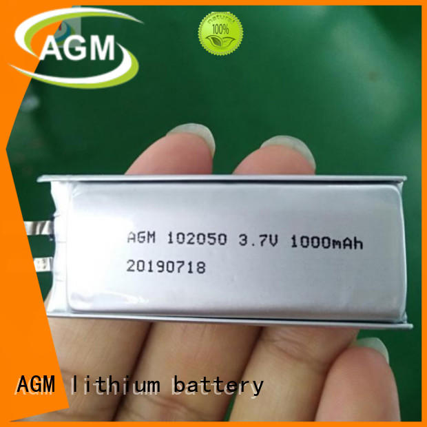 AGM lithium battery rechargeable polymer battery mah for gps