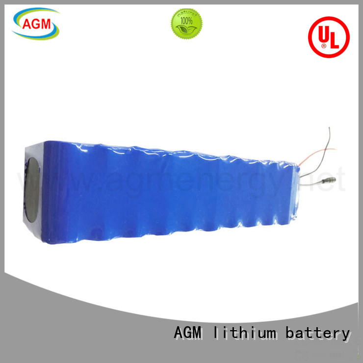 AGM lithium battery new lithium ion battery pack manufacturers