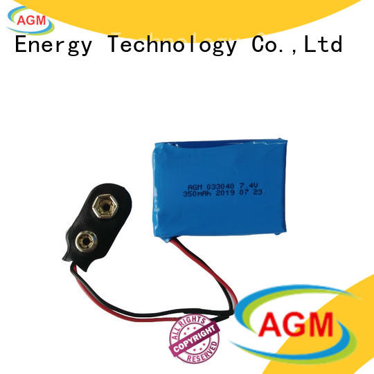 AGM lithium battery 2s lipo battery with charger for pad