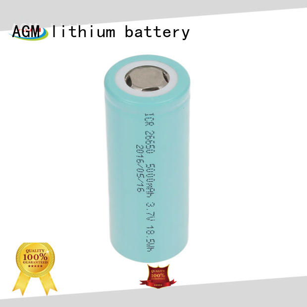 AGM lithium battery consumer 18650 cells icr for solar products