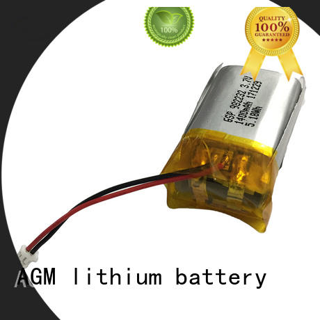AGM lithium battery bluetooth 2s lipo battery supplier for pad