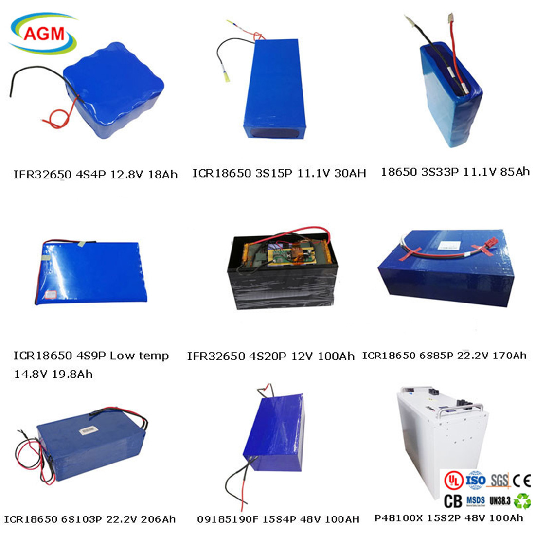 AGM lithium battery e bike battery with charger for sale-1
