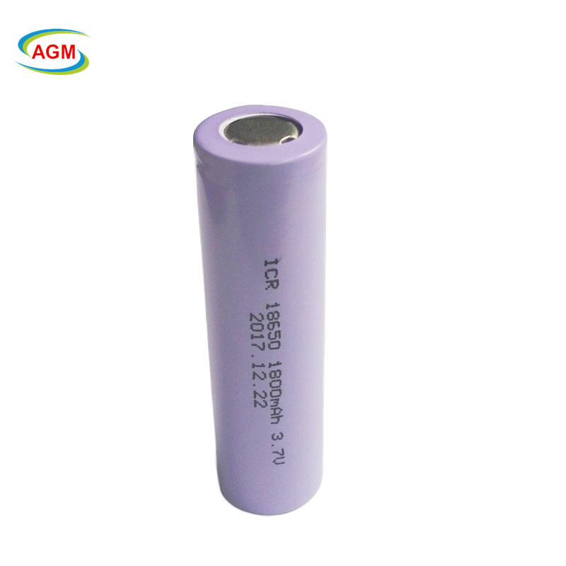 18650 3.7V 1800mAh Rechargeable Lithium Battery for LED lighting/E-Cigarette