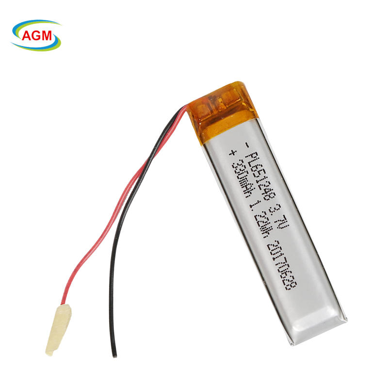3.7V 330mah li-polymer rechargeable battery with pcb for Smart Watch