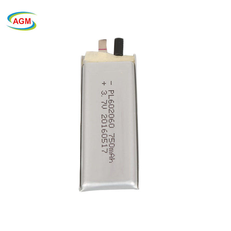 602060 rechargeable lipo li-polymer battery 3.7v 750mah for digital camera battery