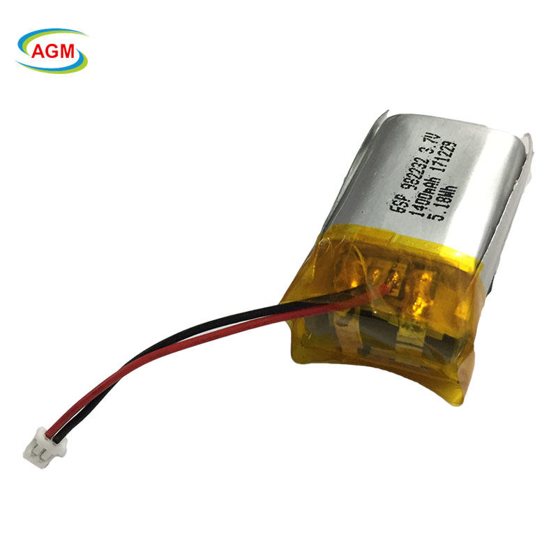 Bluetooth lithium polymer battery 982232 3.7v 5.18Wh 1S2P