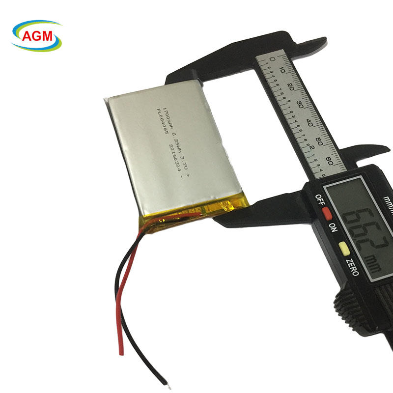 064065 3.7V 1700mAh Polymer Battery for Mp4/Pad/GPS/mobile phone battery