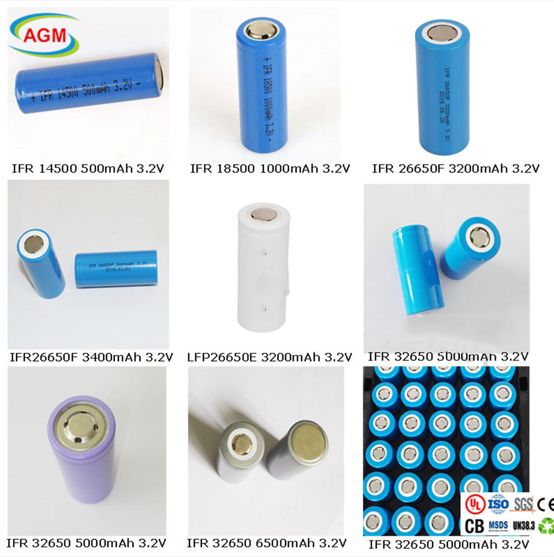 AGM lithium battery lifepo4 cells factory for e scooter-1