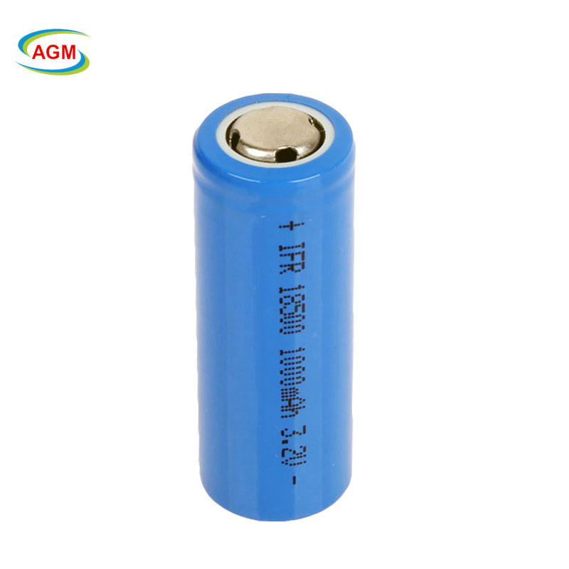OEM 1000mah 3.2V ifr  18500 rechargeable LiFePO4 battery for Flashlight