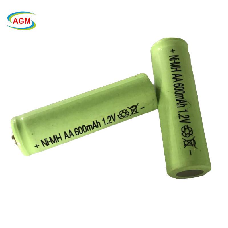 1.2V Ni-Mh Rechargeable Battery AA 600Mah Nimh Battery