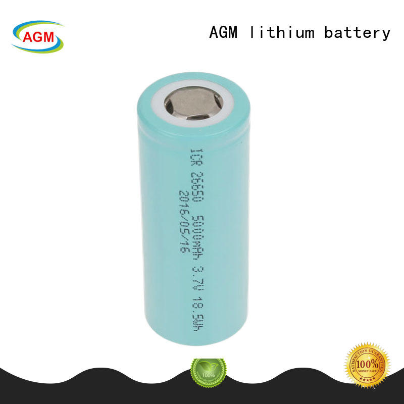 AGM lithium battery mah 18650 rechargeable battery manufacturer for led lighting