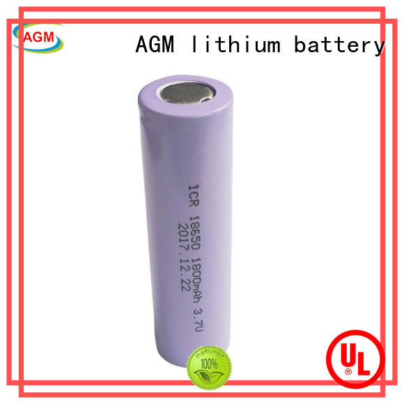 consumer cylindrical lithium ion battery with charger for led lighting