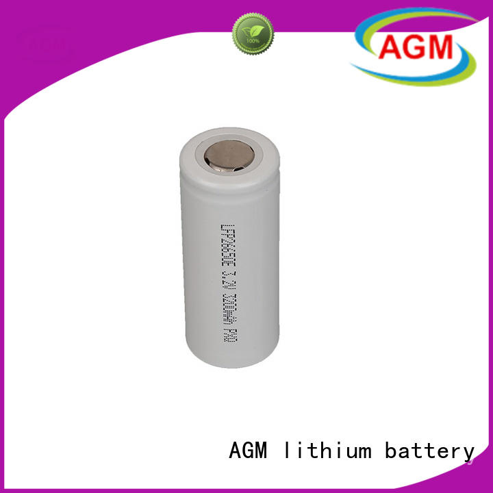 AGM lithium battery rechargeable lifepo4 18650 ifr for sale