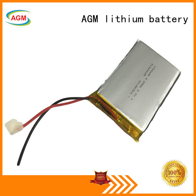 AGM lithium battery bluetooth rc lipo batteries for pad