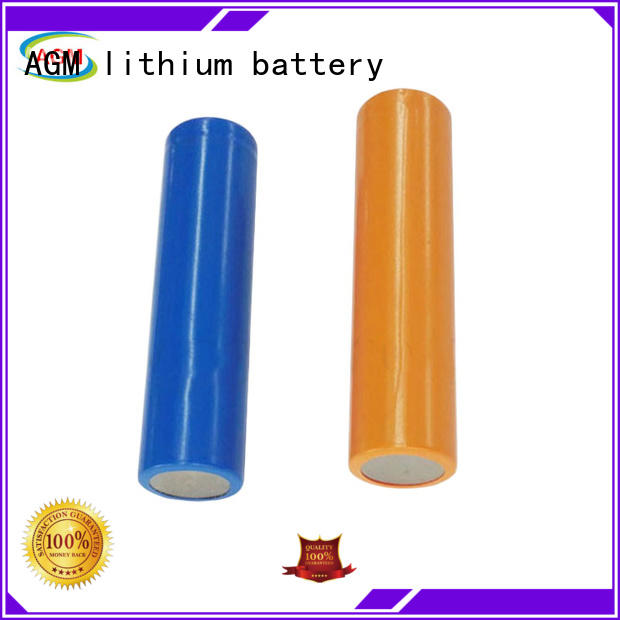 AGM lithium battery mah 18650 lithium battery with pcm for led lighting
