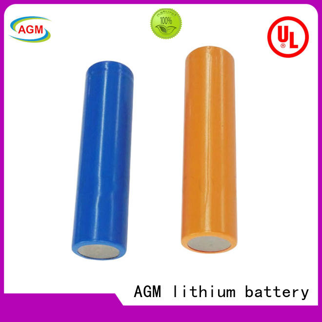 AGM lithium battery low temperature performance lithium 18650 mah for led lighting