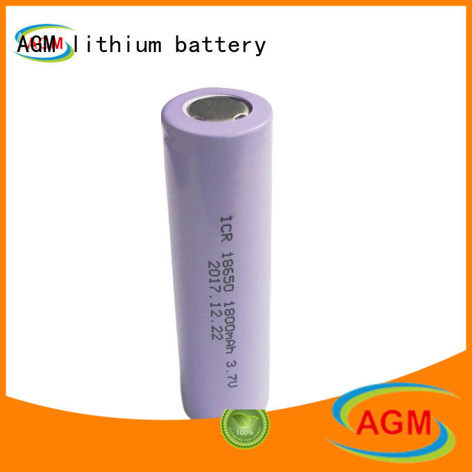 AGM lithium battery mah cylinder battery with pcm for solar products