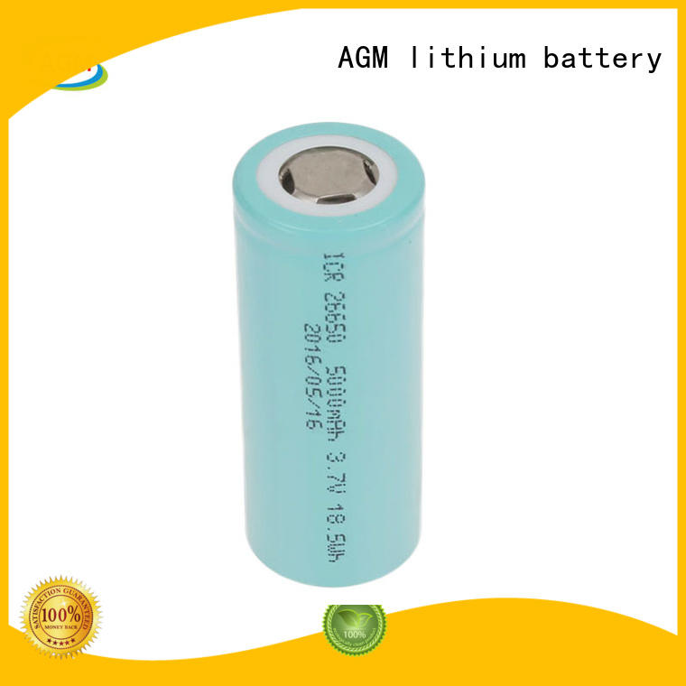 AGM lithium battery mah 18650 li ion battery with pcm for solar products