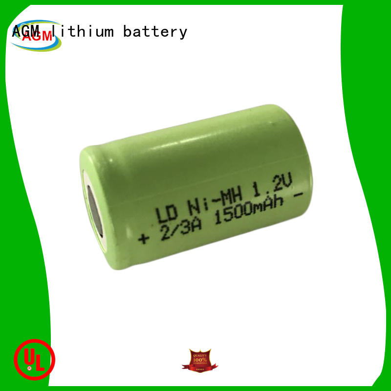AGM lithium battery professional nimh cells mah for customer product