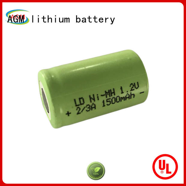 AGM lithium battery mah nimh battery pack supplier for customer product