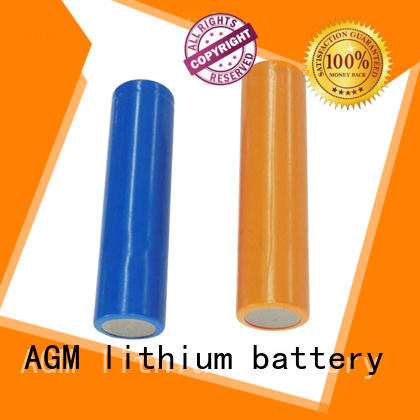 AGM lithium battery low temperature performance battery type 18650 mah for sale