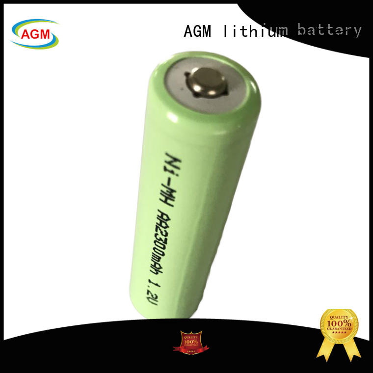 AGM lithium battery flat low self discharge ni mh aaa rechargeable batteries for power tools