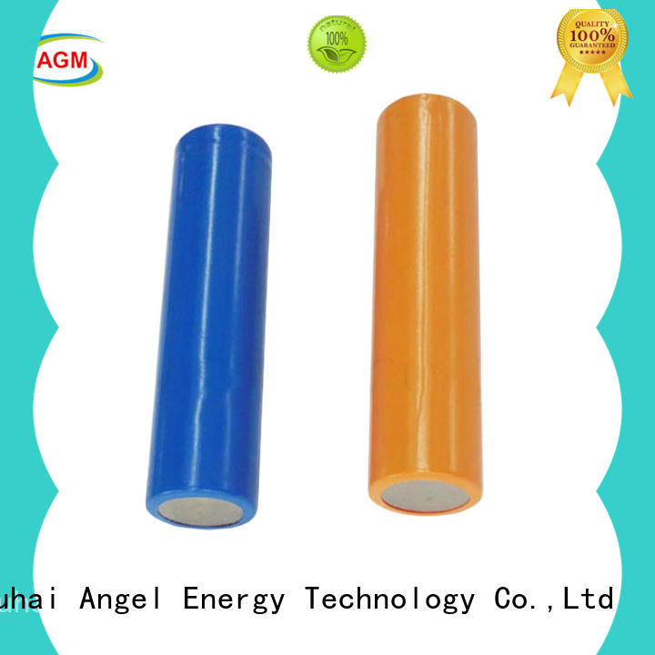 AGM lithium battery low temperature performance 18650 cells with charger for led lighting