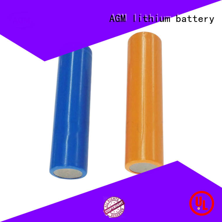 AGM lithium battery electronic icr18650 battery with charger for led lighting