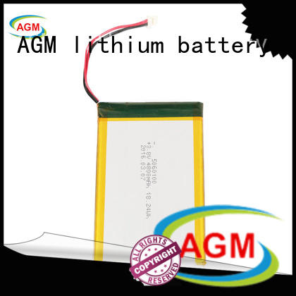 mah 3.7 v lipo battery supplier for pad AGM lithium battery