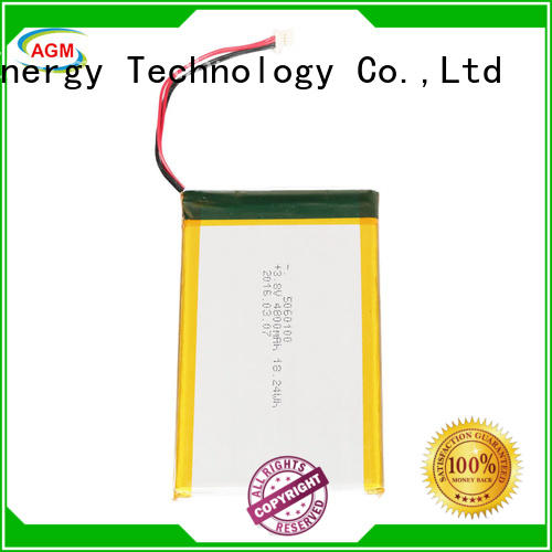 AGM lithium battery lithium polymer battery with charger for phone battery