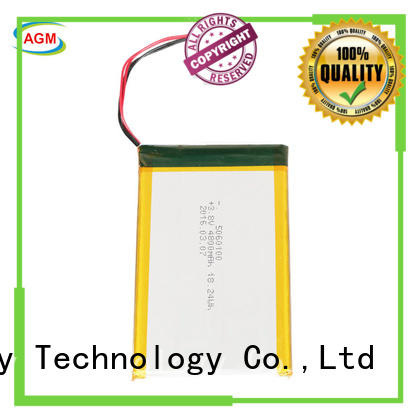AGM lithium battery rechargeable lithium polymer battery with charger for phone battery