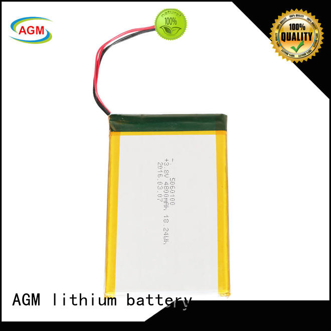 AGM lithium battery agm 3.7 v lipo battery with pcb for gps