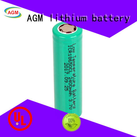 AGM lithium battery 18650 rechargeable battery with pcm for sale