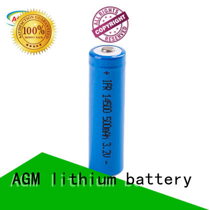 LiFePO4 IFR 14500 3.2V 500mAh Lithium Iron Phosphate Rechargeable Battery for electric Tools