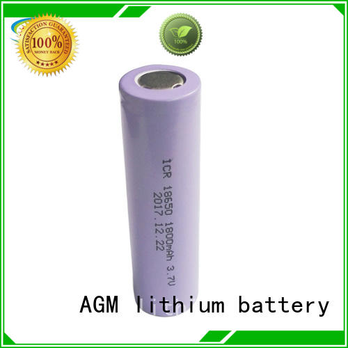 AGM lithium battery icr 18650 lithium battery manufacturer for led lighting