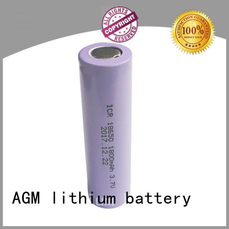 AGM lithium battery icr lithium 18650 manufacturer for led lighting