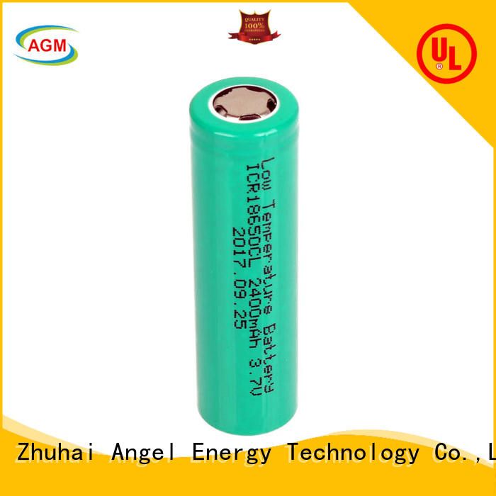 AGM lithium battery consumer 18650 rechargeable battery manufacturer for led lighting