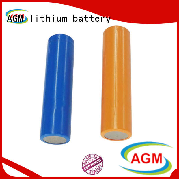 AGM lithium battery mah 18650 rechargeable battery manufacturer for sale