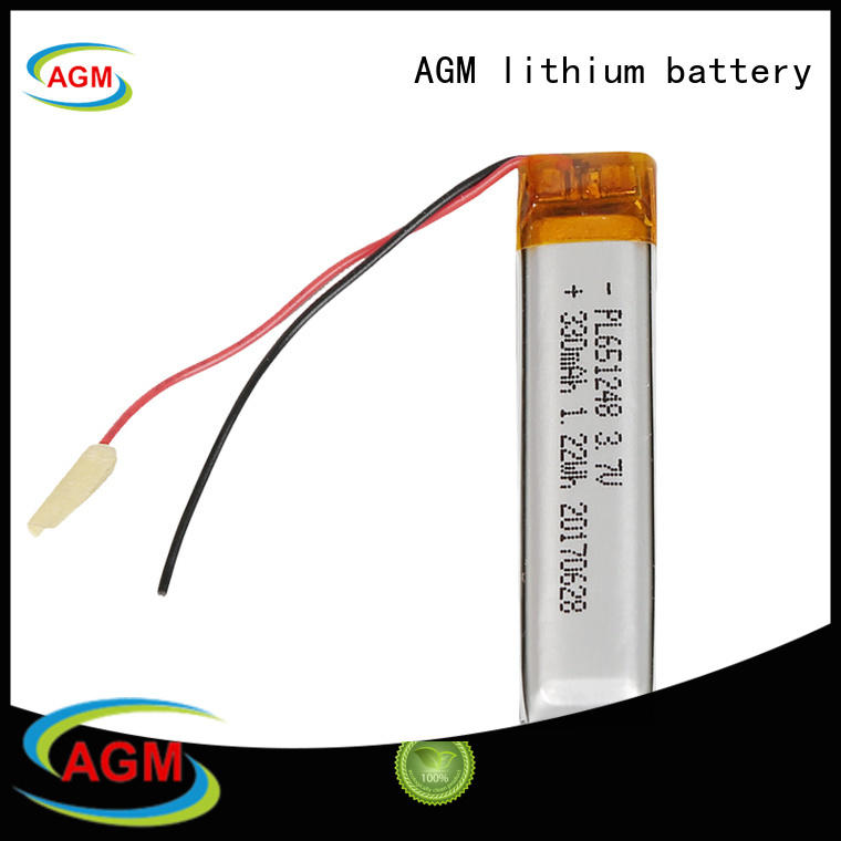 AGM lithium battery rechargeable rechargeable lithium polymer battery supplier for pad